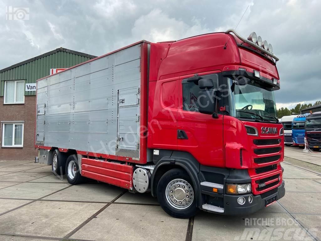 Scania R 620 V8 6x2*4 Pezzaioli Livestock 2 deck | Retard