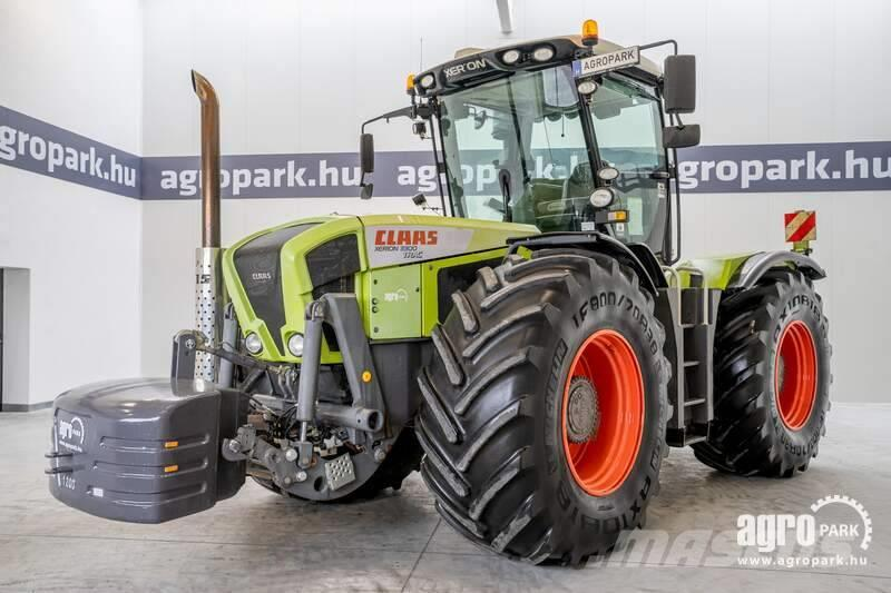 CLAAS Xerion 3300 (4926 hours) 50 km/h, cab suspension