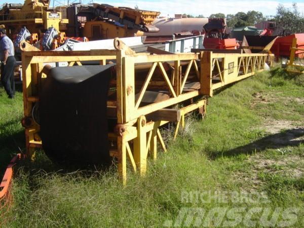 Conveyor Sales Conveyor Stacker 20 metre x 750mm