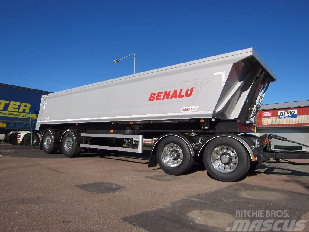Benalu tippsläp 4-axl Vikt 7 ton Siderale 92, 2017, Tippsläp