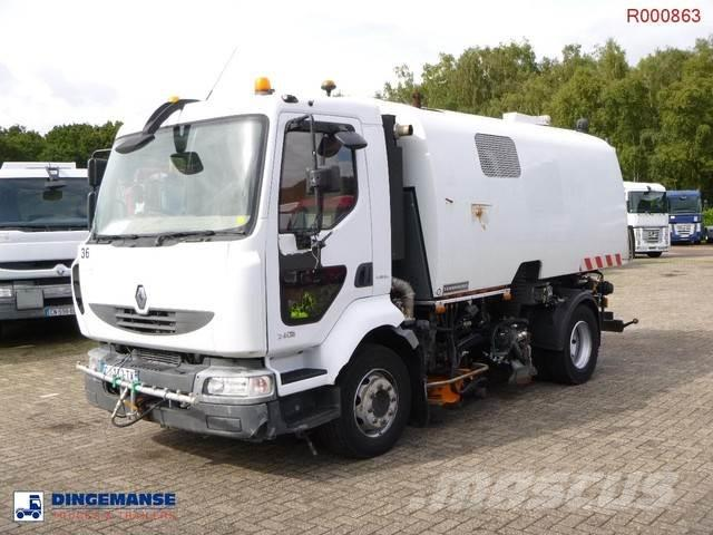 Renault Midlum 240 dxi 4x2 refuse truck / street sweeper R