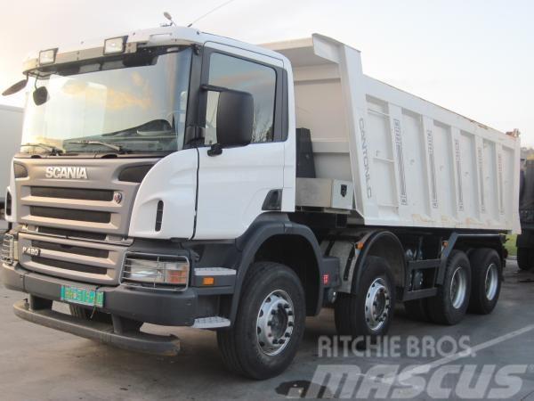 Scania P 420 8X4
