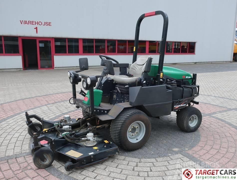 Ransomes HR300 3 Gang Rotary 4WD Diesel Mower 152cm