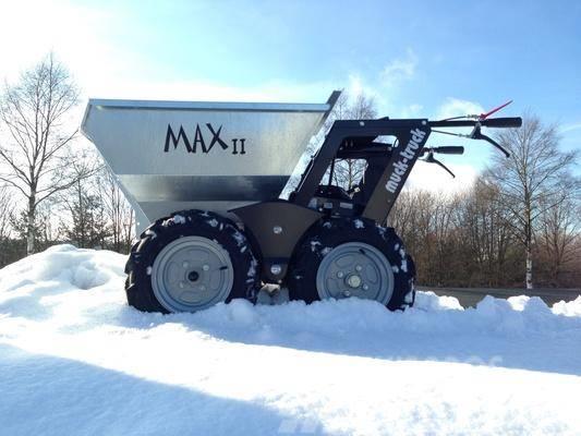 [Other] Muck-Truck MAX II mit 550kg Zuladung und Honda-Mot