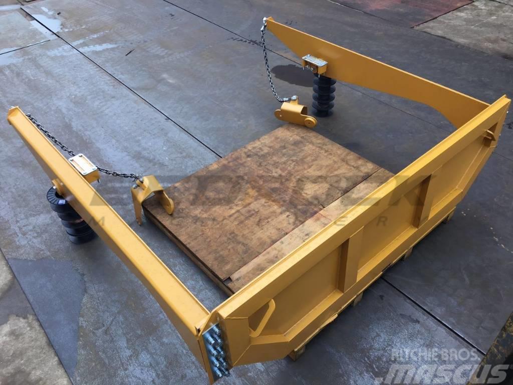 Bedrock Tailgate 159-7405B fits CAT 730 Articulated Truck
