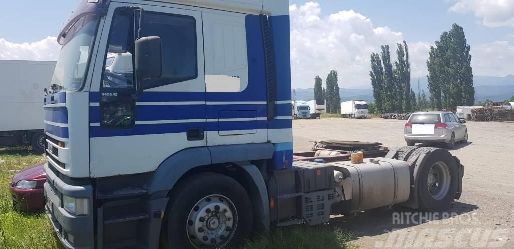 Iveco EUROTECH 440E42 4x2 tractor unit