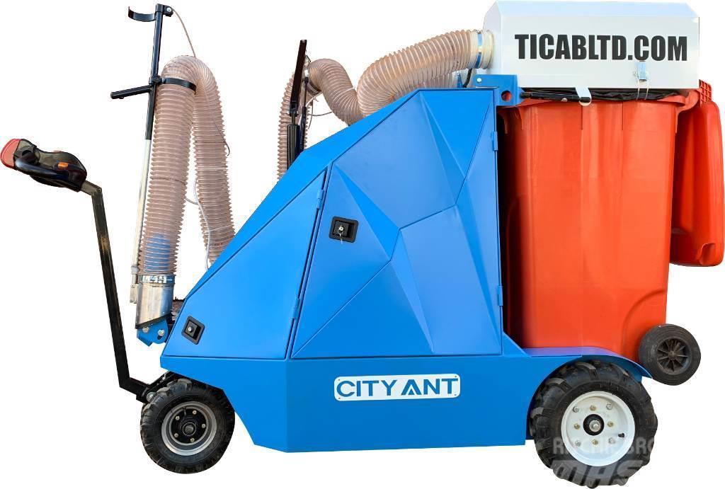 Ticab Вакуумно уборочная машина CityAnt Electro