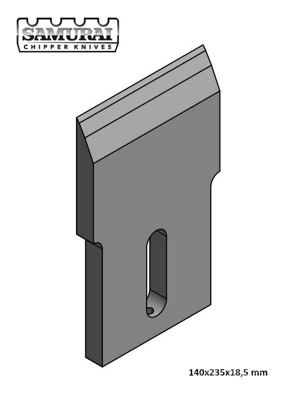 Eschlböck BIBER 7 Knife 140x235x18,5