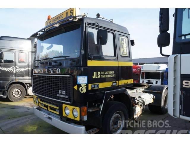 Volvo F10 full steel suspension
