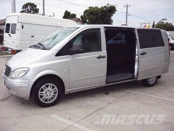 Mercedes benz vito 119p extra long panel vans year of for Mercedes benz vito vans for sale