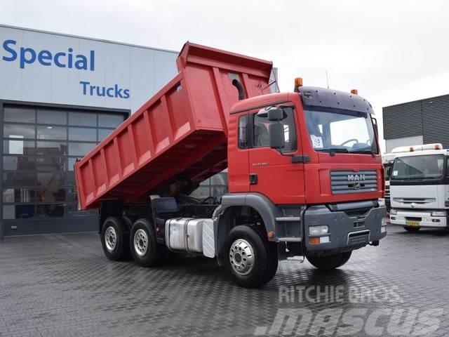 MAN TGA 33.350 6X4 BIG BACK TIPPER (15m3)