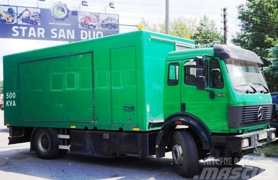 Mercedes-Benz 1820 generator 420 KVA