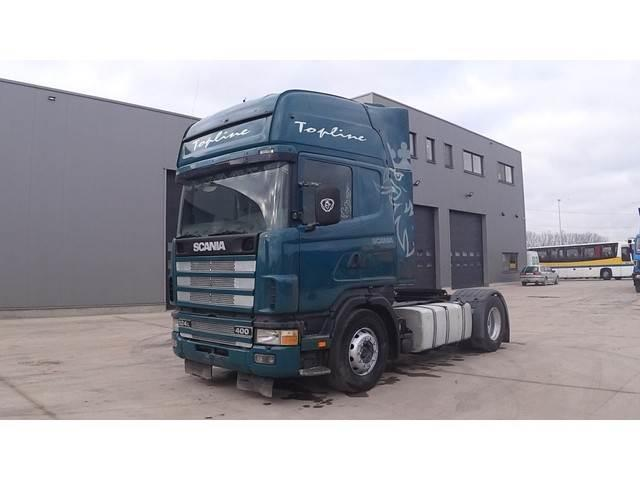 Scania 124 - 400 Topline (MANUAL PUMP AND MANUAL GEARBOX)