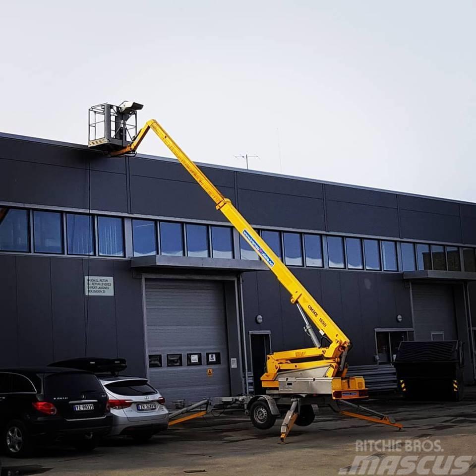 Omme 1550 EBZX tilhengerlift 15,3 m arb.høyde