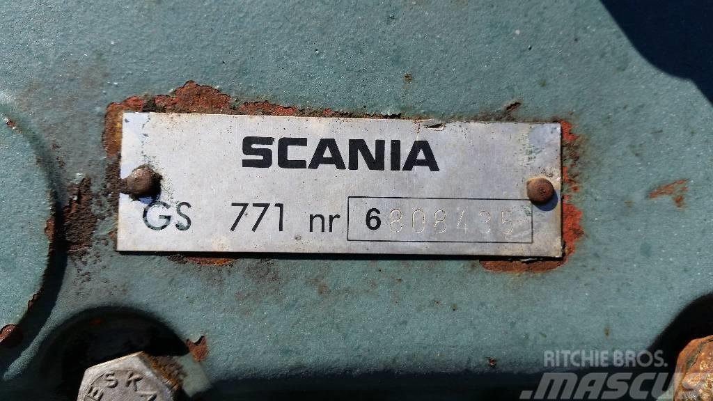 Scania GS771, Växellådor
