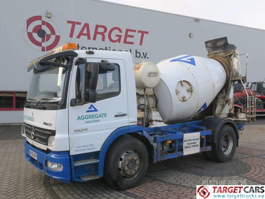 Mercedes-Benz Atego 1524 Concrete Mixer Truck 4x2 Euro4 Hymix