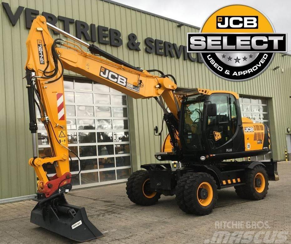 JCB Wheeled ExcavatorJS175W
