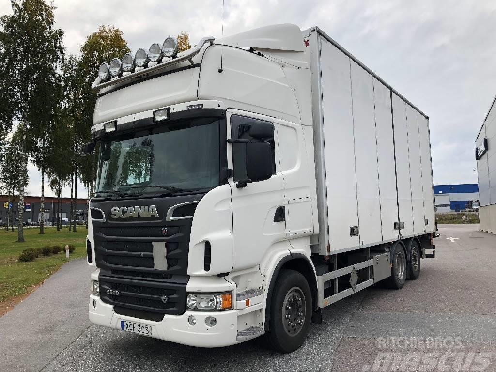 Scania R5006x2*4  Fjärr  550 000:-