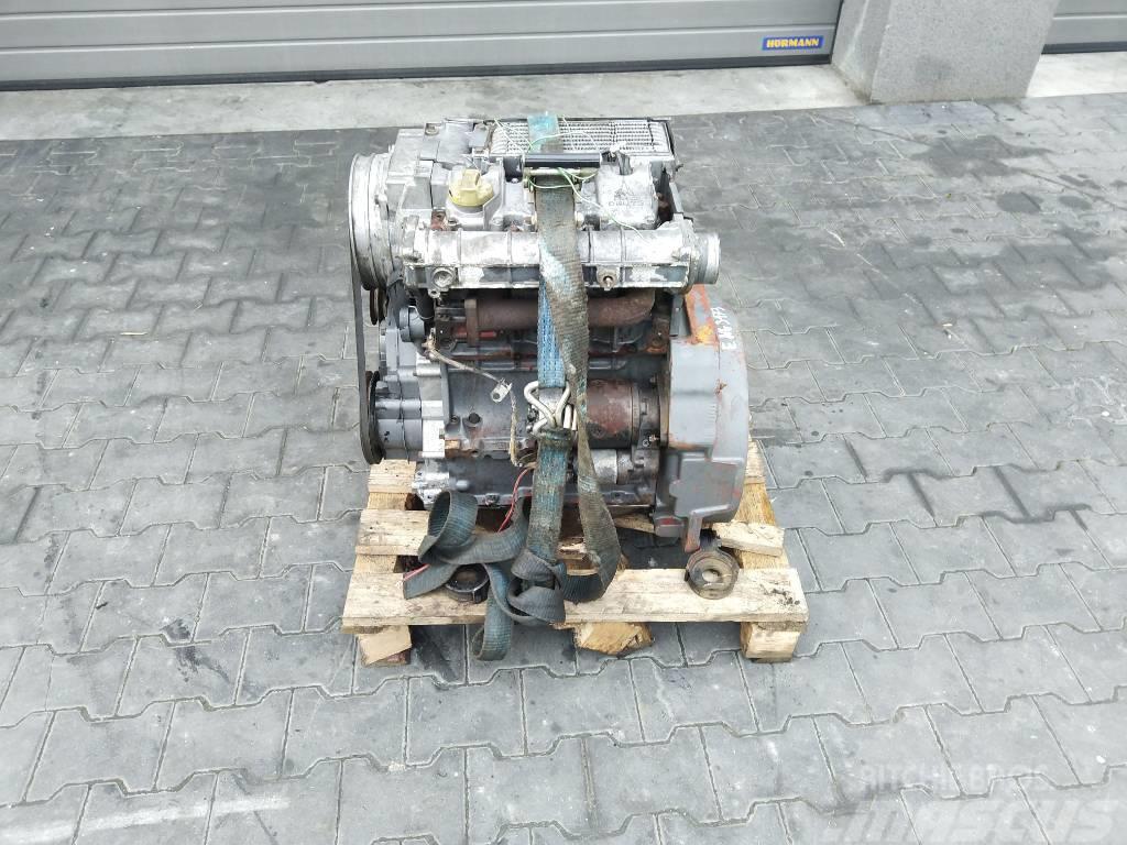 Deutz F3L1011 3 cylindrowy Engine Silnik Engine Motor