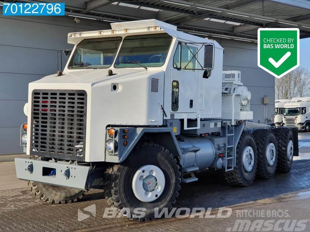 Oshkosh 8X8 M1070 8x8 EX USA Big-Axle Winch
