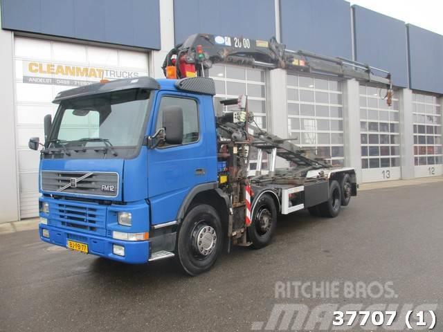 Volvo FM 12.340 8X2 HMF 20 ton/meter laadkraan