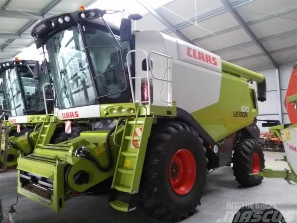 CLAAS Lexion 670, 30 km/h, V750 Laserpilot