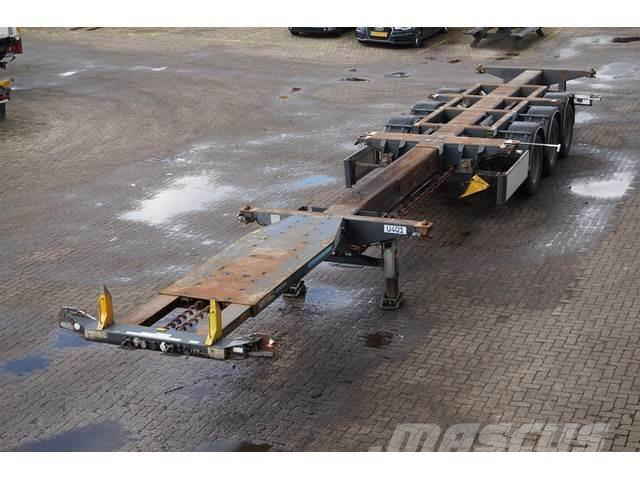 D-tec Container chassis 45ft. / Multi / Highcube