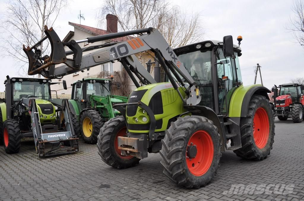 CLAAS ARES 567 ATZ + MAILLEUX MX T10