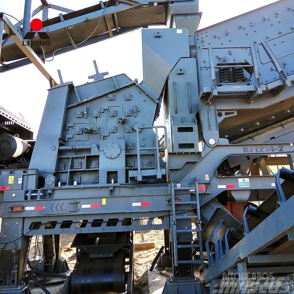 Liming PF1315 portable mobile impact granite crusher