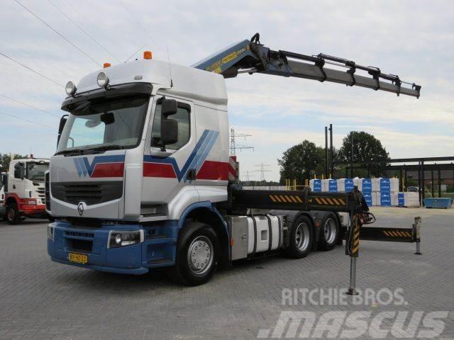 Renault 450.25 6x2 + Palfinger PK 42502 Euro 5