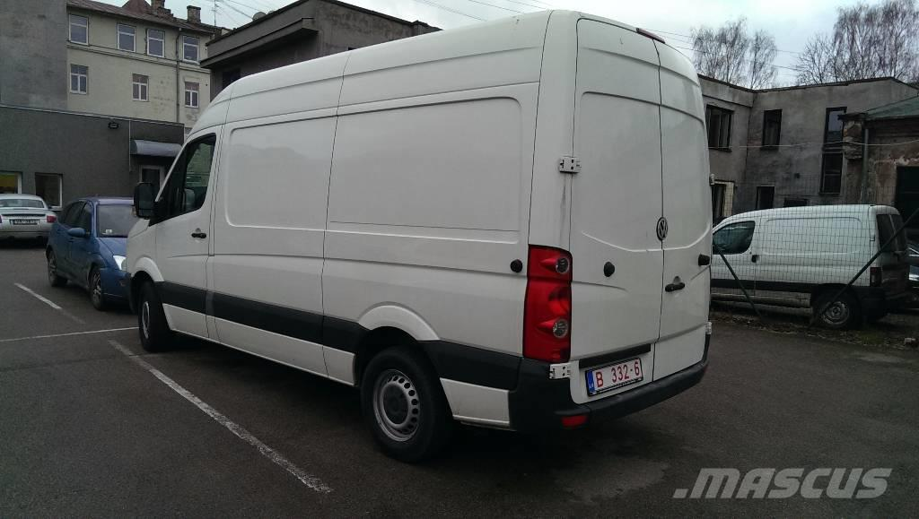 volkswagen crafter occasion prix 10 500 ann e d 39 immatriculation 2007 fourgon. Black Bedroom Furniture Sets. Home Design Ideas