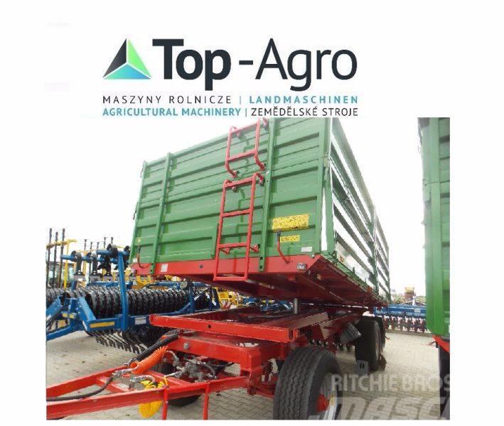 Pronar T680, Side walls 800 + 600, 13100 kg capacity!