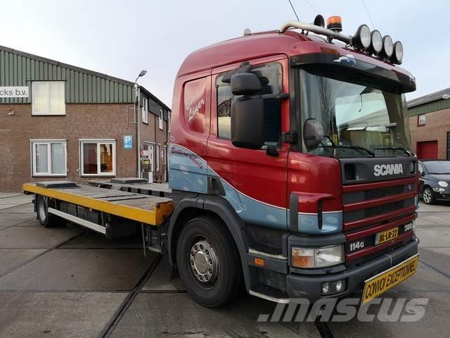 Scania P 114.380 / MANUEL / VESSEL-TRANSPORT / RETARDER