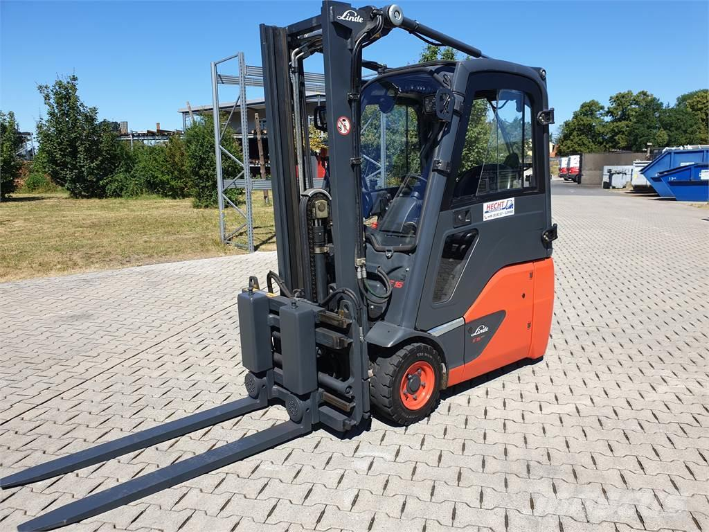 Linde E16C-02 only 784 hours