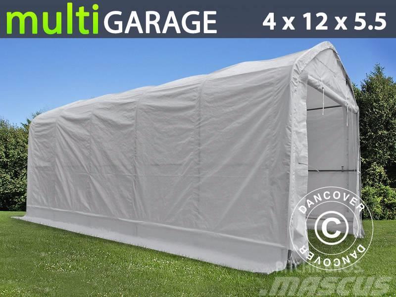 Dancover Storage Shelter 4x12x4,5x5,5m PVC, Telthal