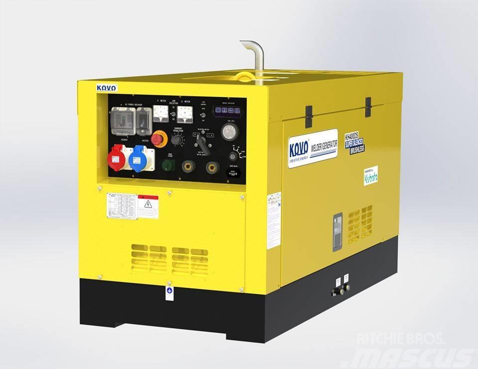 Kubota powered diesel generator J312