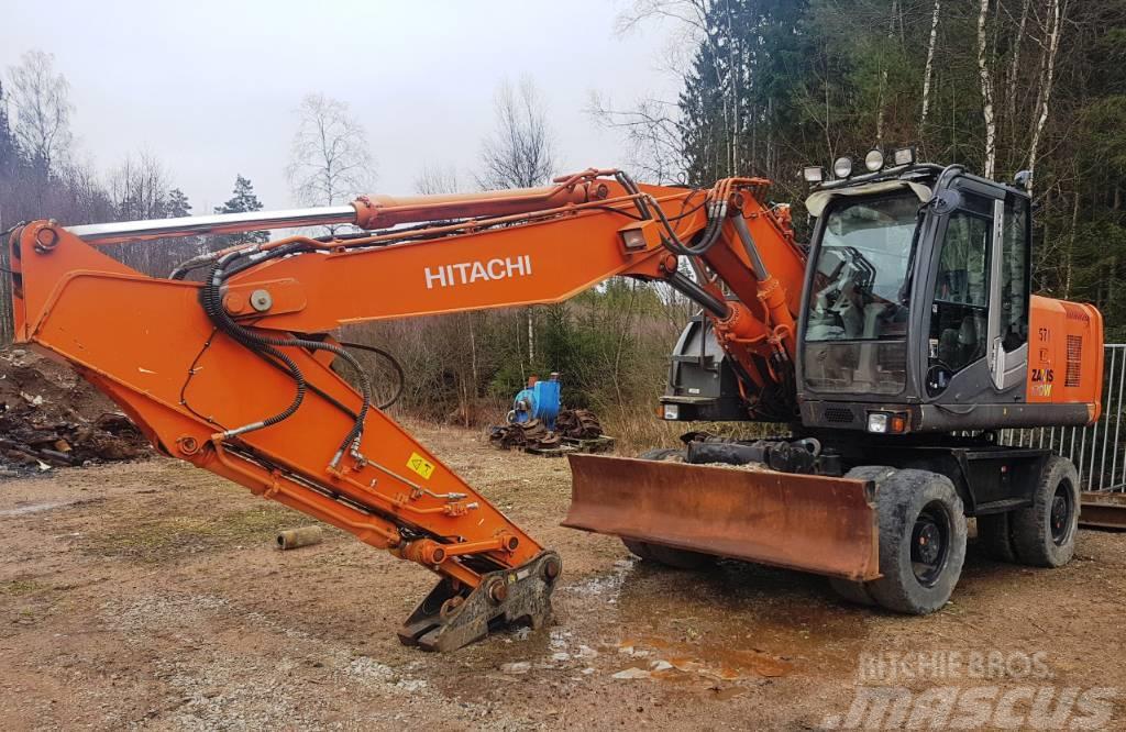 Hitachi ZX170W-3 Dismantling