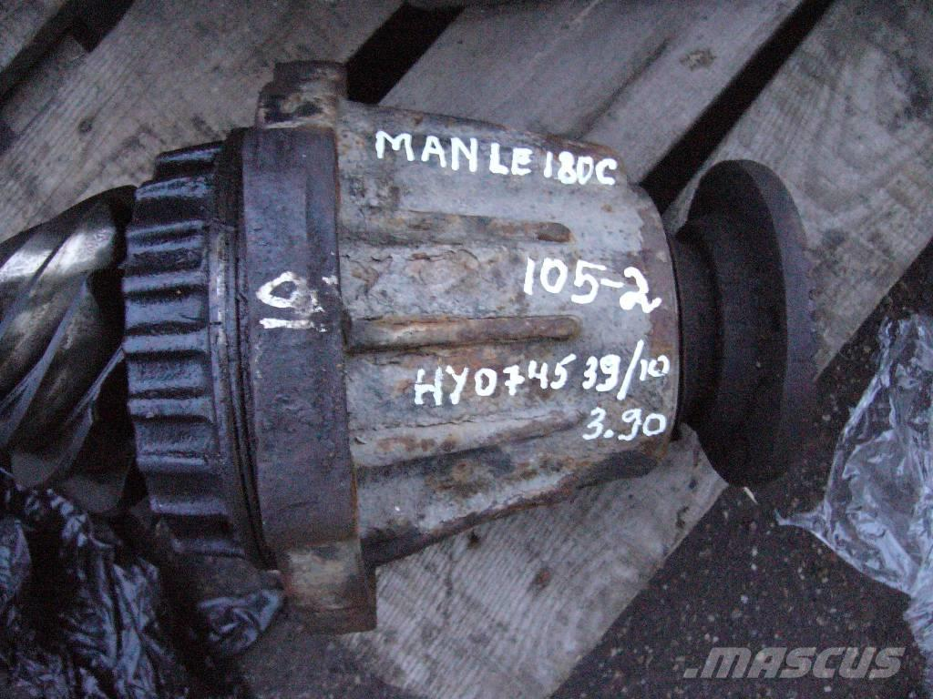 MAN LE180C HY0745 3.90 differential