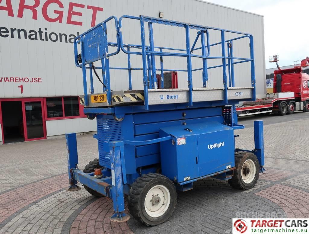 UpRight X33RT Diesel 4x4 Scissor Work Lift 1210cm