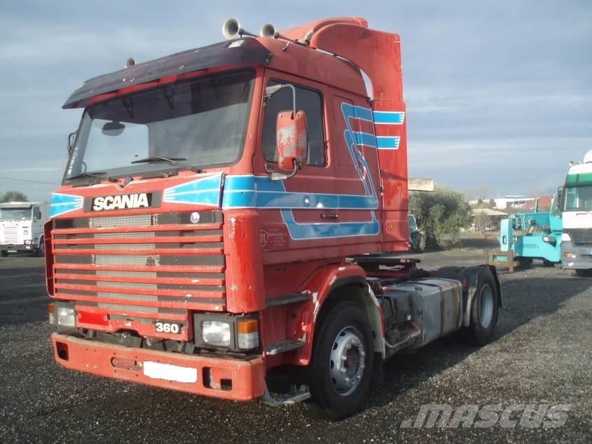 scania r113 occasion ann e d 39 immatriculation 1990 tracteur routier scania r113 vendre. Black Bedroom Furniture Sets. Home Design Ideas