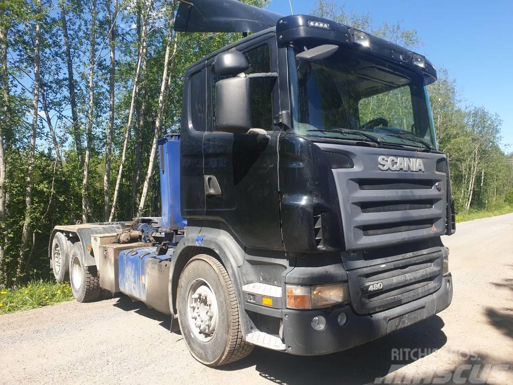 Scania R 480 LB puretaan