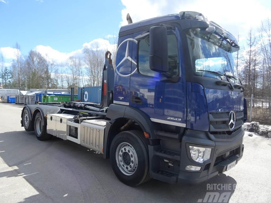 Used mercedes benz antos 2543l 6x2 per vaunun vetoauto for Mercedes benz trucks for sale in usa