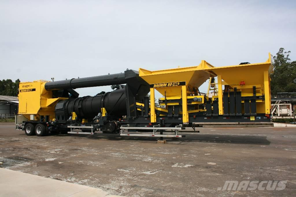 Marini Magnum 80 * mobile asphalt plant