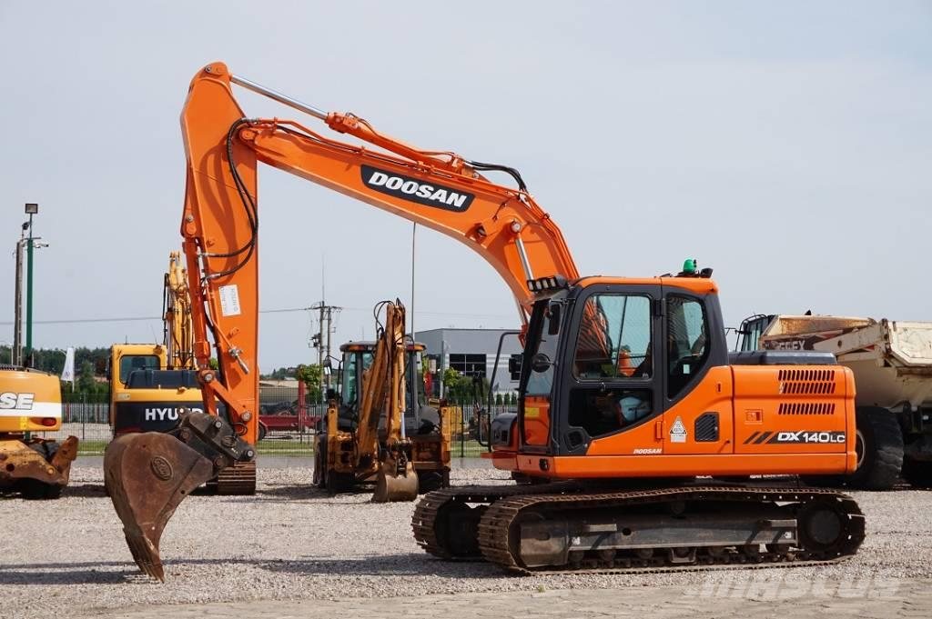 Doosan DX140LC-3 * Waga 14,300 kg *