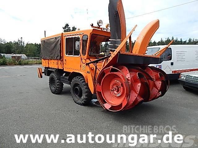 Unimog 411 Schneefräse 4x4 Schneeschleuder Winterdienst