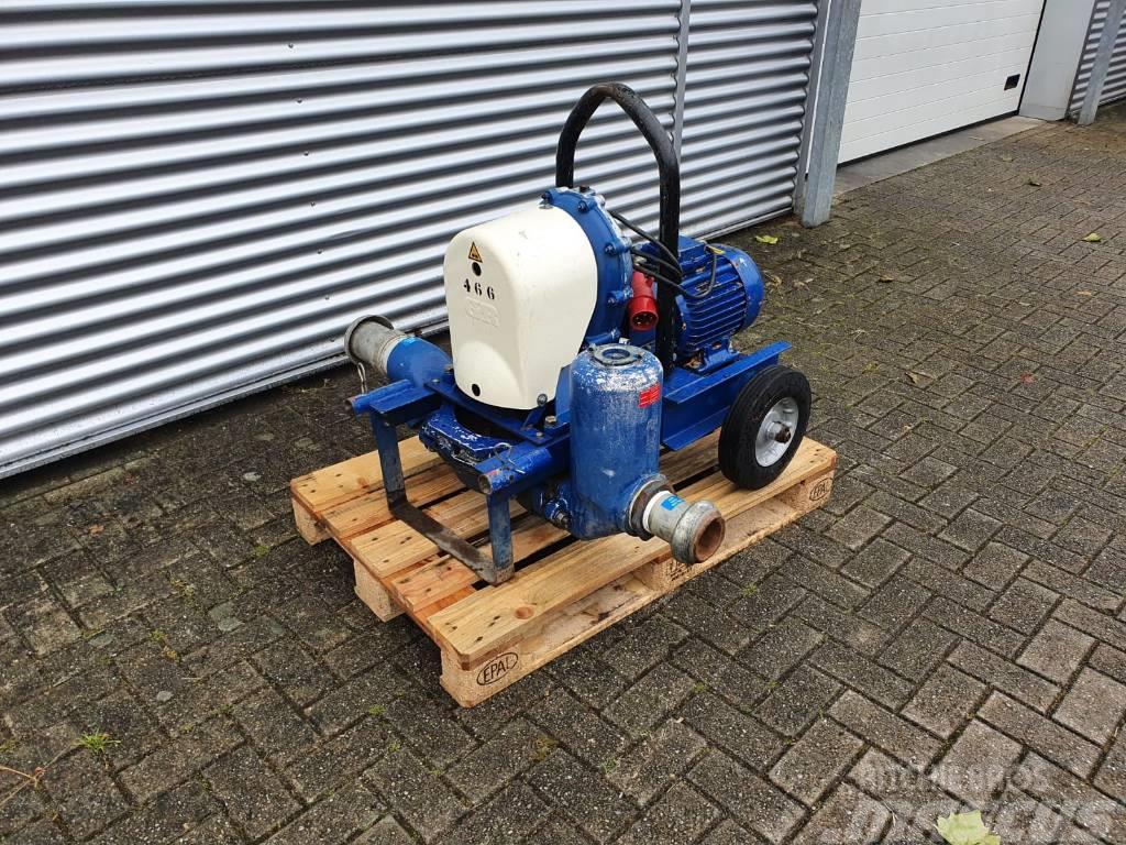 Gorman-Rupp waterpumps 4D-AB1 elektrische