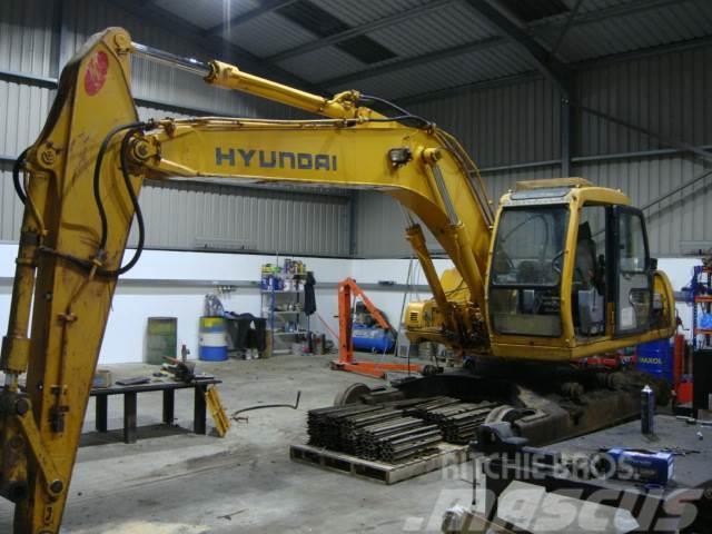 Hyundai ( Dismantling ) Robex 160 LC-3