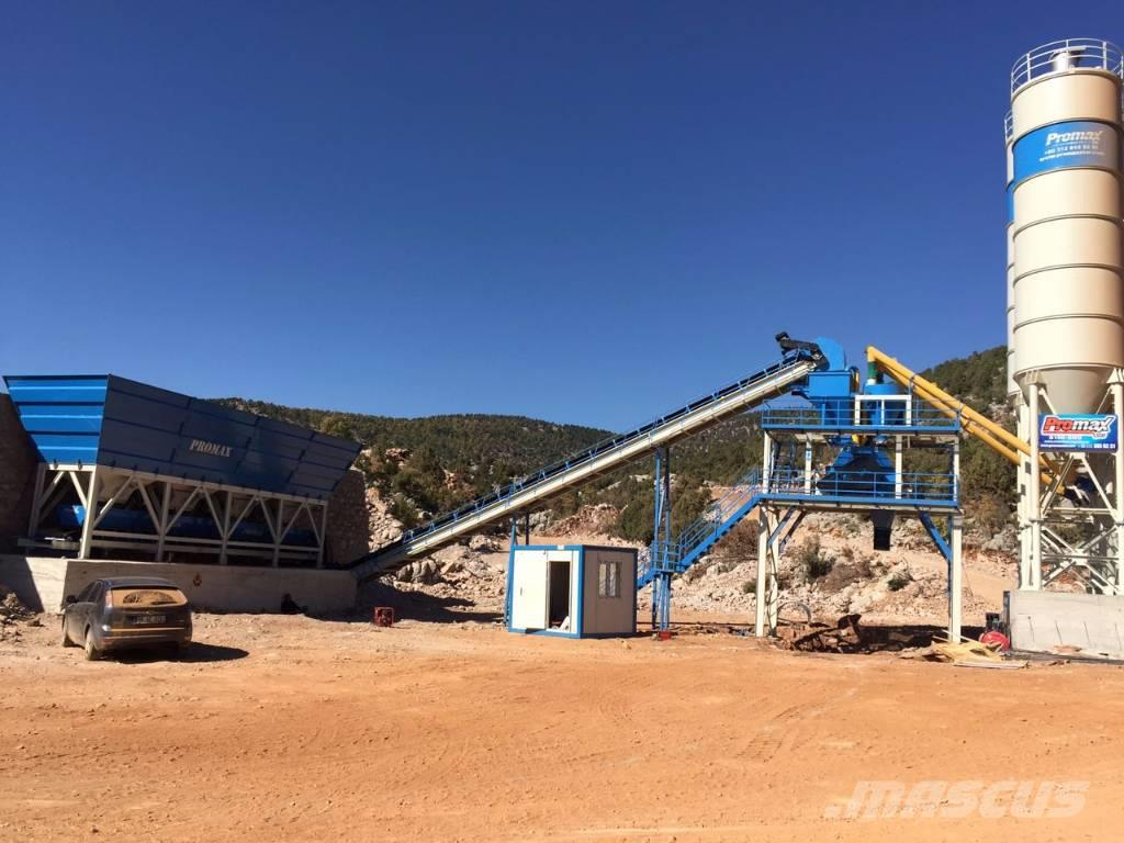 Promax-Star PROMAX Stationary Concrete Batching Plant S100