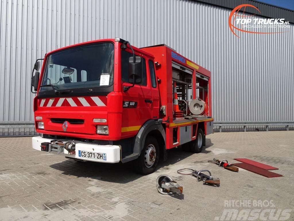 Renault S 180 Midliner Calamiteiten truck, Electricity gen