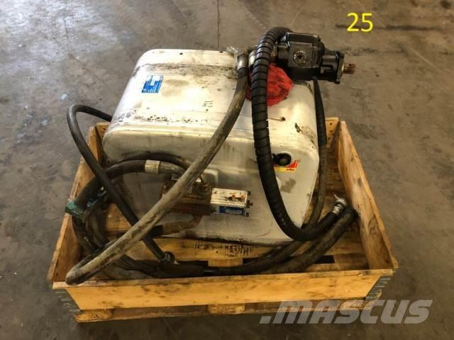 Hyva 210 Liter Tank, Pump and Hydraulic hoses